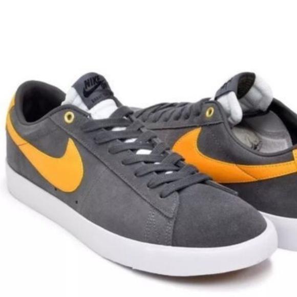 official photos be5ff 43155 Nike SB Blazer Low GT Grant Taylor Grey 704939-071